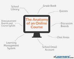 Human Anatomy And Physiology Courses Online The Anatomy Of Online Courses Breakdown Of Learning