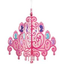 disney princess hanging chandelier party decoration party