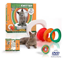 amazon com cat toilet training system by litter kwitter teach