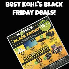 2017 kohl s black friday deals list of the best kohl s black