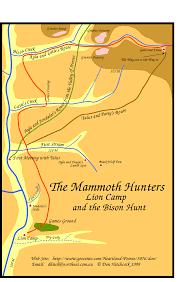 Mammoth Map Mammoth Hunters Local Map
