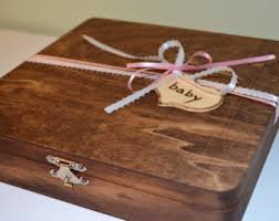 keepsake items large keepsake box wooden box card box personalized gift