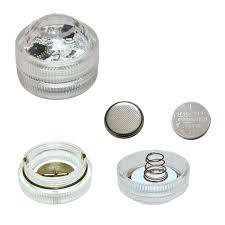 submersible led lights wholesale factory direct wholesale 20pcs lot 2pcs cr2032 battery operated mini