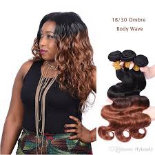 wave sew in 8a ombre hair wave sew in weaves dip dyed two tone ombre