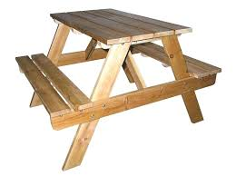 rustic outdoor picnic tables wood garden table image of cozy teak wood furniture solid wood 2