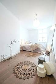 chambre deco photos chambre deco cocooning tapis ronds ethniques boartes