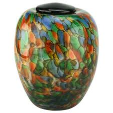 cremation urns for adults serenade blown glass urn urn blown glass and cremation urns