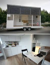Modern Tiny Home by 13 More Modern Mobile U0026 Modular Tiny House Designs Webecoist