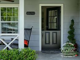 9 Lite Exterior Door Doors 9 Lite Classic Style