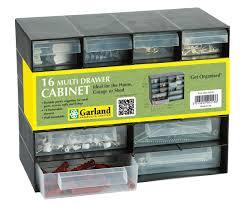 Multi Drawer Storage Cabinet Plastic 16 Multi Drawer Storage Cabinet Organiser For Home Garage