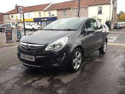 vauxhall corsa 1 2 petrol 2011 manual 3 door hatchback grey