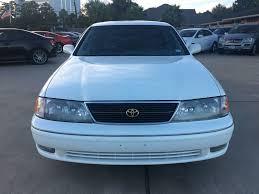 lexus used parts houston tx 1998 used toyota avalon 4dr sedan xl w bucket seats at car guys