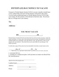 10 tenancy notice templates free word excel pdf format for