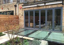walk on glass and rooflights for flat roofs and basement