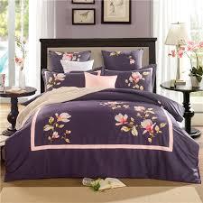 Maroon Comforter Online Get Cheap Blue And Purple Comforter Sets Aliexpress Com
