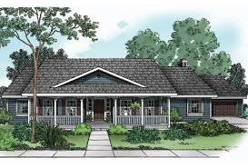 5 single story house plans with porches one homes wrap around