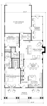 horrible bungalow cottage craftsman farmhouse house plan level one
