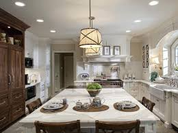 lighting elegant bamboo kitchen island lighting over dining table
