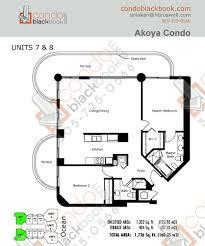 akoya unit 2807 condo for sale in north beach miami beach floor plan for akoya north beach miami beach model e line 07 08