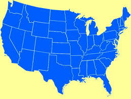 united states map with all the states and cities maps of america