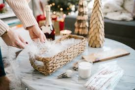 furniture how to make a gift basket for the holidays