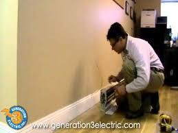 electric baseboard heater install philadelphia electrician youtube