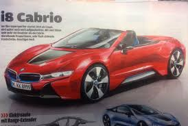 Bmw I8 Convertible - bmw i8 red gallery moibibiki 1