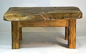 rustic wood side table small rustic side table tiidal co