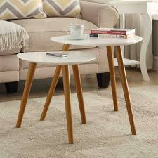 Oslo Coffee Table Convenience Concepts 203542 Oslo Nesting End Tables The Mine