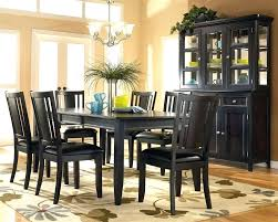 black dining room black dining table and chairs awesome dining room chairs black black