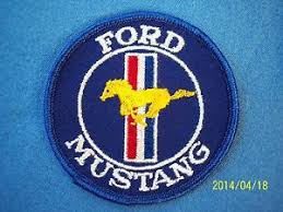 ford mustang patch vintage ford mustang patch 302 cobra shelby mach 1 bullitt