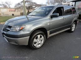 outlander mitsubishi 2003 2003 mitsubishi outlander xls in urban gray pearl 101320 autos