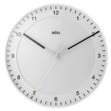 braun classic wall clock bnc017whwh 42 60 thewatchsuperstore com