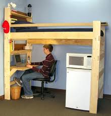 loft bed with desk bunk bed office wooden bunk bed with desk realvalladolid club