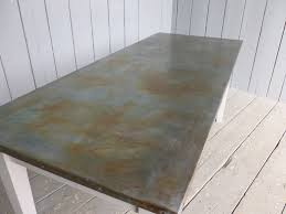 Zinc Top Bar Table Great Zinc Top Bar Table With Antiqued Zinc Table Tops And