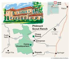 philmont scout ranch map philmont scout ranch is an outdoor destination for hikers cers