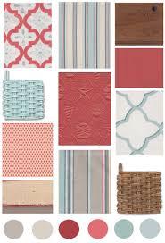 Coral Aqua Bedroom Decorating Ideas Cottage Color Board Coral U0026 Aqua