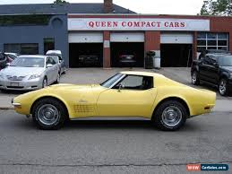 1970 corvette stingray for sale 1970 chevrolet corvette for sale in canada