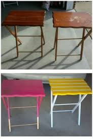 Folding Tv Tray Table Make Some Nice Tv Trays Nice Tvs And How To Make