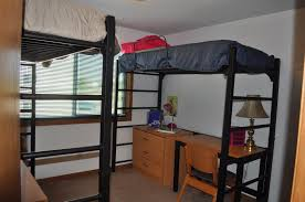 apartments with sample decorations rooms residential life double bedroom