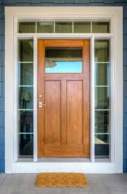 Interior Door Transom by Stained Fiberglass Front Door With Sidelights And Transom Custom