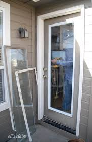 diy exterior door quick easy diy fix for a badly broken exterior door doors