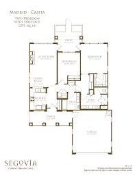 casitas floor plans floor plans u2013 oakmont of segovia