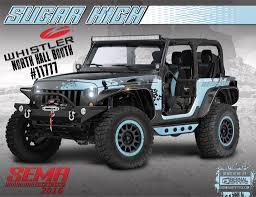 sema jeep 2016 whistler partners with team sugar high for sema 2016