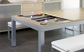 dining table converts to pool table dining table transforms into a pool table commercial interior