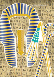 New Party Release Egyptian Photobooth Props Cake Photo Booths