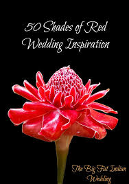 Shaeds Of Red by Fifty Shades Of Red Wedding Inspiration