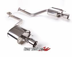lexus is 350 awd exhaust tanabe medalion touring axle back exhaust lexus is350 awd 14 17