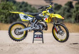 motocross racing gear dirt bike magazine two stroke tuesday cary hart u0027s rch rm250