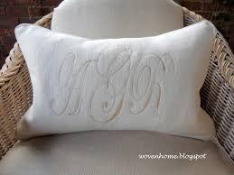 wedding pillows woven home monogrammed wedding pillow give away